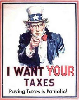 Paying Taxes Is Patriotic!